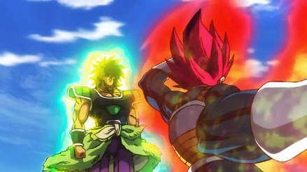 Dragon Ball Super Broly Vegeta Se Transforma Por Primera Vez A