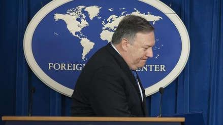 Mike Pompeo suspendió su encuentro programado con representantes norcoreanos