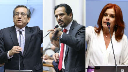 Morales, Del Castillo y Aráoz protagonizaron fuerte discusión durante debate del informe Lava Jato