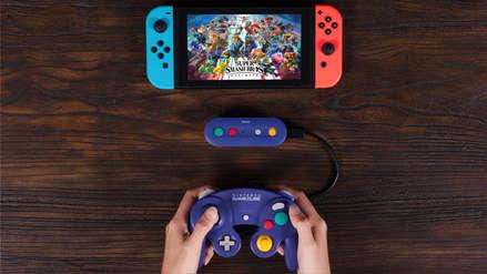 Anuncian adaptador inalámbrico para conectar los controles GameCube al Nintendo Switch