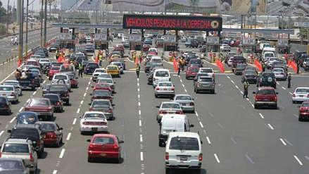 Rutas de Lima elevará peajes en Panamericana Sur y Norte de S/5.00 a s/5.50