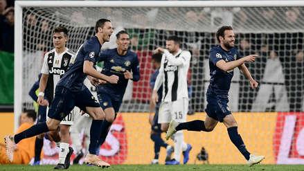 Juventus vs. Manchester United: goles, resumen y resultado del partido por Champions League