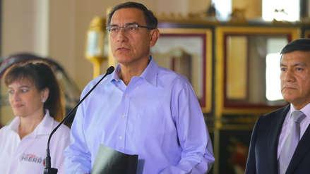 Martín Vizcarra: La posición del Ejecutivo sobre la bicameralidad