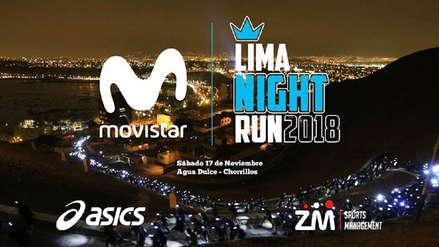 Movistar Lima Night Run 2018: ya están abiertas las inscripciones para la carrera nocturna