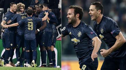 En 4 minutos: los goles del Manchester United en la remontada a la Juventus