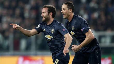 Manchester United remontó el partido y derrotó a Juventus en la Champions League