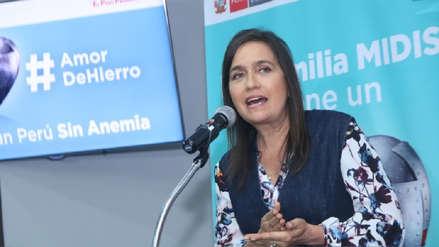 Frida Delgado fue nombrada embajadora de la lucha contra la anemia