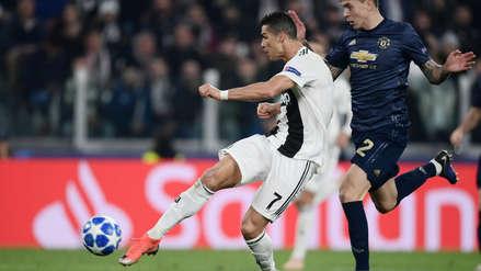 Con una volea fantástica: el golazo de Cristiano Ronaldo al Manchester United