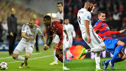 Karim Benzema vuelve a usar los chimpunes con los que ganó su primera Champions League