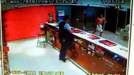 Cámaras de seguridad captaron la huida del presunto asesino de 'Jota' en sauna de San Isidro
