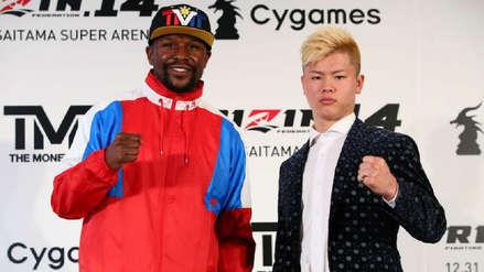 Floyd Mayweather canceló pelea con japonés Tenshin Nasukawa por MMA