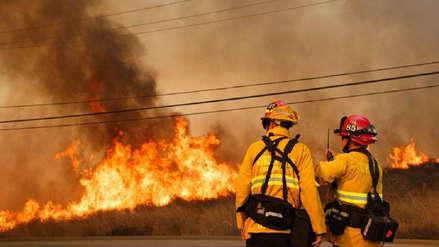 Miles de hogares evacuados en un nuevo incendio en el norte de California