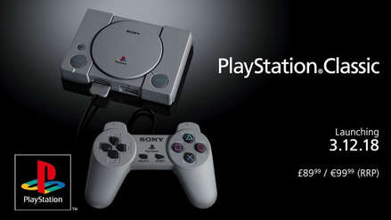 Los juegos de la PlayStation Classic estarán exclusivamente en inglés