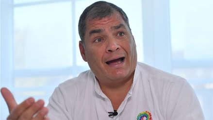 Rafael Correa pidió asilo en Bélgica en junio