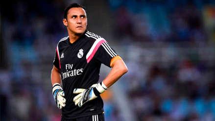 Keylor Navas evalúa dejar el Real Madrid y marcharse a Italia