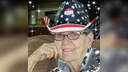 Anciana de 82 años votó por primera vez en su vida y murió poco después