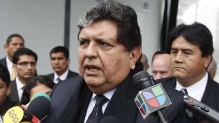 Alan García asistirá a citación:
