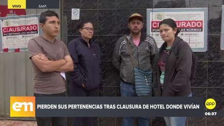 Inmigrantes venezolanos se quedaron en la calle y sin sus pertenencias tras clausura de hostal