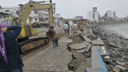 Restaurantes y hoteles perjudicados por oleaje anómalo en Huanchaco