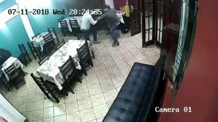 Policía es baleado al frustrar asalto en Trujillo