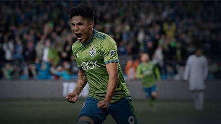 Raúl Ruidíaz y su doblete en el Seattle Sounders vs. Portland Timbers de Andy Polo en la MLS