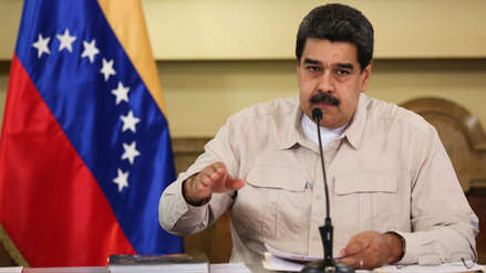 Maduro asegura que EE.UU.
