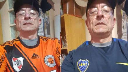 Boca Juniors vs. River Plate EN VIVO: la inédita historia del argentino que es hincha de ambos equipos | Copa Libertadores 2018 Final