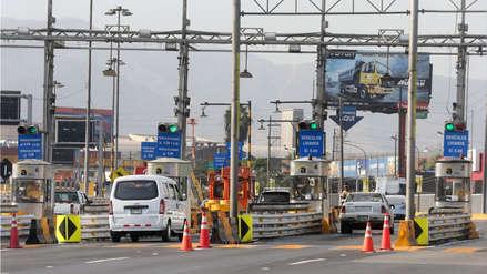 Peajes de Rutas de Lima suben a S/5.50 desde el 20 de noviembre