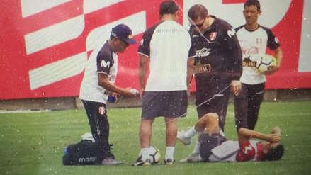 Perú vs. Ecuador: Yoshimar Yotún pasó un susto tras sufrir golpe en entrenamiento
