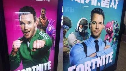 Chris Pratt se convierte en la imagen de Fortnite