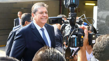 Alan García tras citación de Fiscalía: