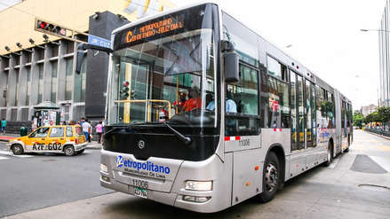 Metropolitano | Lima Bus: Medida cautelar