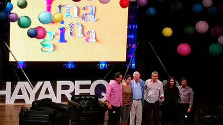 Mario Vargas Llosa en el Hay Festival Arequipa: