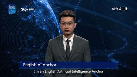 China crea presentadores virtuales de noticias con inteligencia artificial