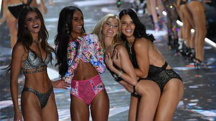 Ángeles e influencers en la pasarela: Los mejores momentos del Victoria's Secret Fashion Show
