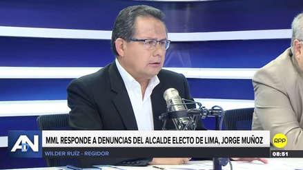 """Regidor negó que la Municipalidad de Lima haya cerrado las puertas a Muñoz: """"Sigue desinformado"""""""