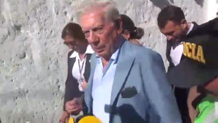 La evasiva respuesta de Mario Vargas Llosa a pregunta sobre Keiko Fujimori