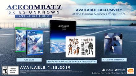 Ace Combat 7: Así es la edición de colección del videojuego de Bandai Namco