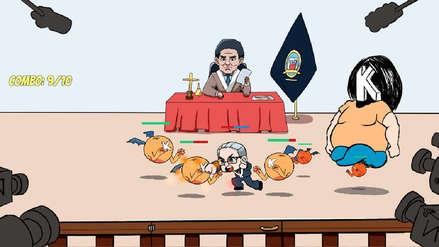 Crean videojuego basado en audiencia contra Keiko Fujimori