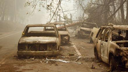 Al menos 23 muertos en el 'incendio más destructivo de la historia' de California