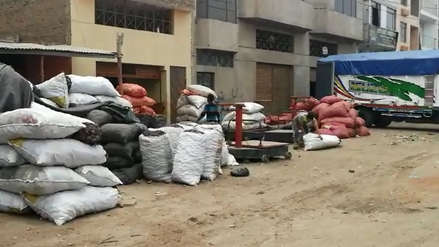 Mercado de Papa recibe hasta 50 mil toneladas en temporada alta