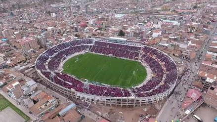 Cienciano 2-0 Carlos A. Mannucci: espectacular vista del estadio Garcilaso desde un drone | FOTOS