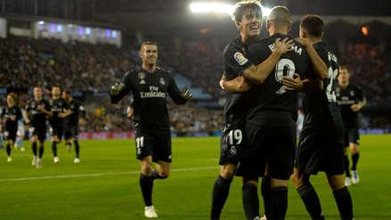 Real Madrid ganó al Celta de Vigo y sigue invicto bajo la dirección de Santiago Solari