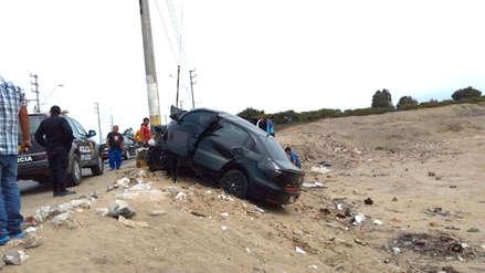Trágico accidente de tránsito frente a Chan Chan