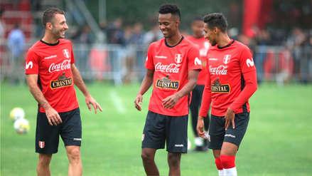 Miguel Araujo y Nilson Loyola se sumaron a la Selección Peruana en el séptimo día de trabajos