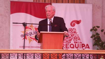 """Mario Vargas Llosa: """"En Arequipa se habla el mejor español del Perú"""""""