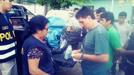 Policía de Chiclayo decomisó 9 kilos de marihuana y un litro latex de opio