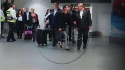 La reina Letizia de España arribó esta tarde a Lima