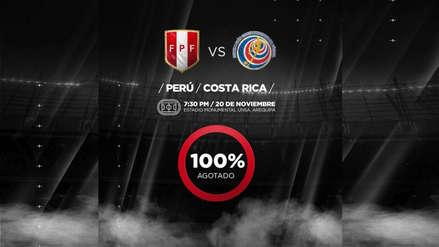 Perú vs. Costa Rica: entradas para el amistoso en Arequipa se agotaron en tiempo récord