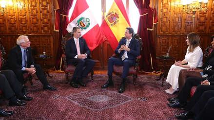 García Belaunde alude a Odebrecht en reunión protocolar con el rey Felipe VI de España